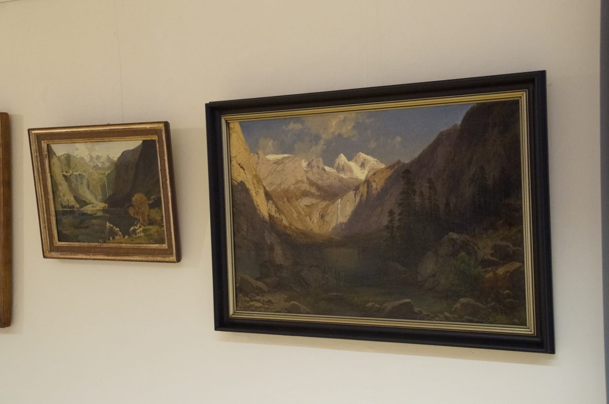 """Der """"kleine"""" Obersee erinnert an die Düsseldorfer Schule, der """"große"""" ist ein typisches Werk der Romantik."""
