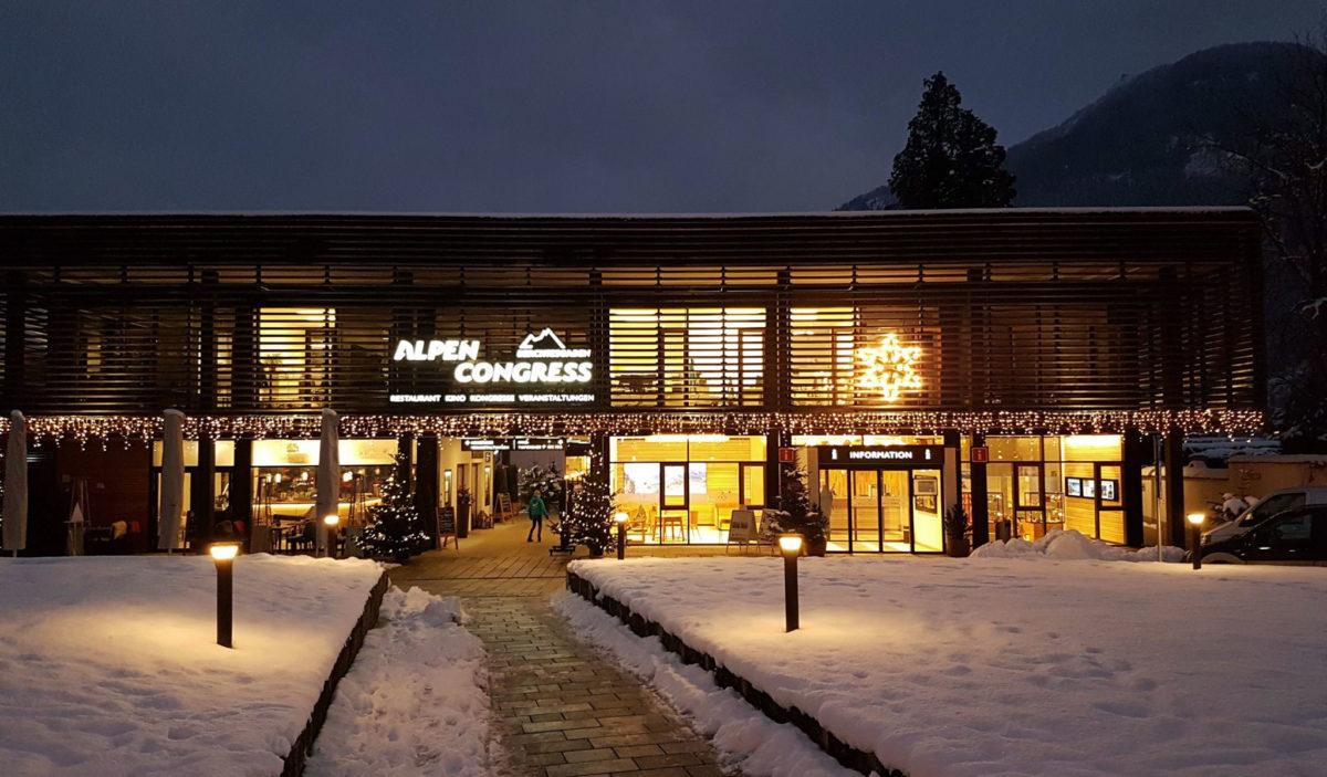 Noch ist Winter am AlpenCongress Berchtesgaden