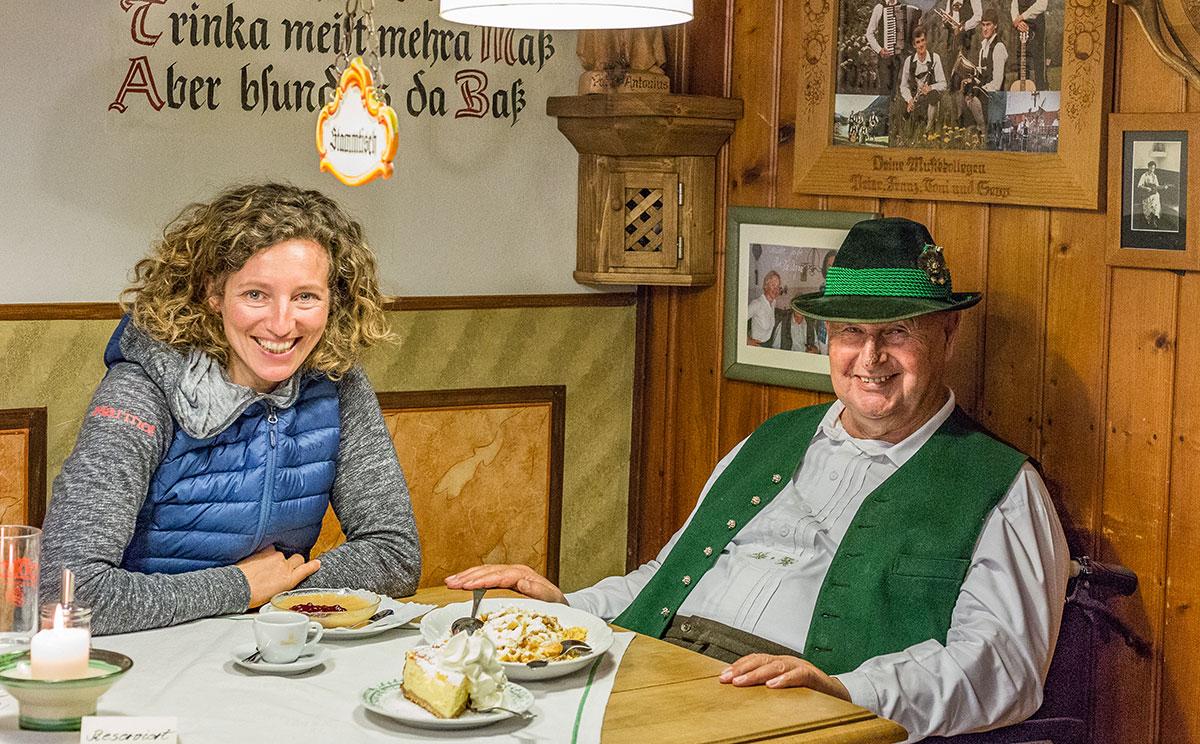 Nina Schlesener und Toni Hillebrand vom Auzinger © Haidn Petra