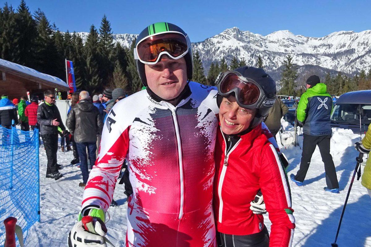 Schnellster Schutzgebiets-Mitarbeiter der Alpen im Riesenslalom ist Alois Hohenwarter aus dem Nationalpark Berchtesgaden (Herrenwertung). Ranger-Kollegin Monika Lenz sicherte sich mit einem guten Lauf Rang drei bei den Damen.