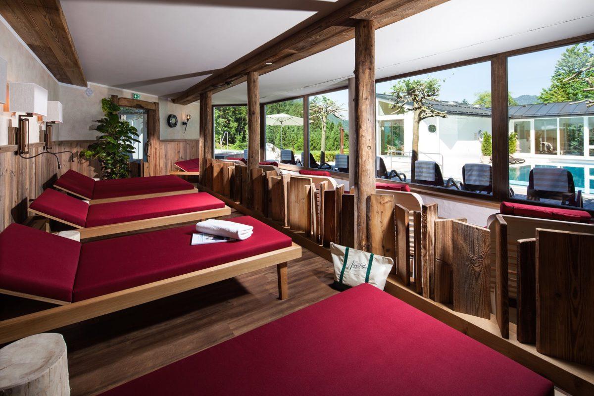 Die Wohlfühl-Sauna-Alm im Alpenhof