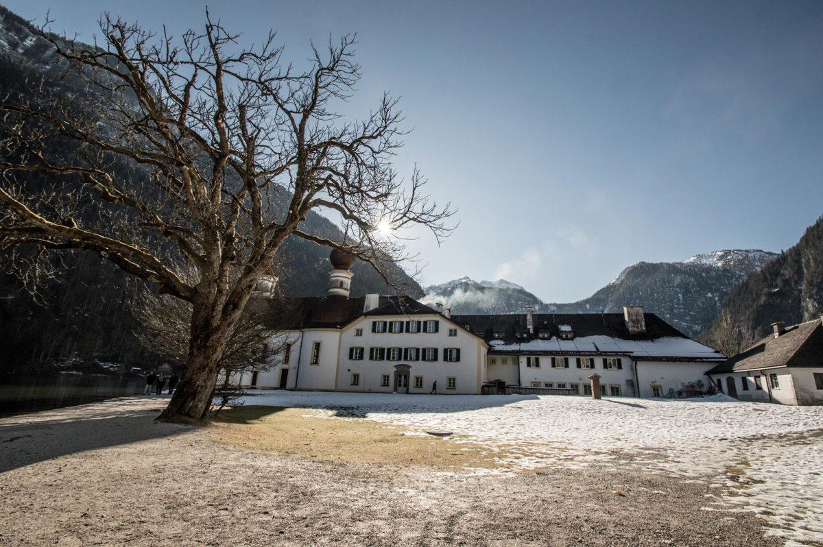 Wintersparziergang auf der Hirschau