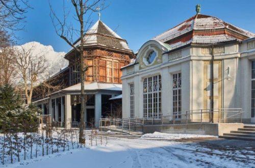 Das Gradierhaus Bad Reicehnhall