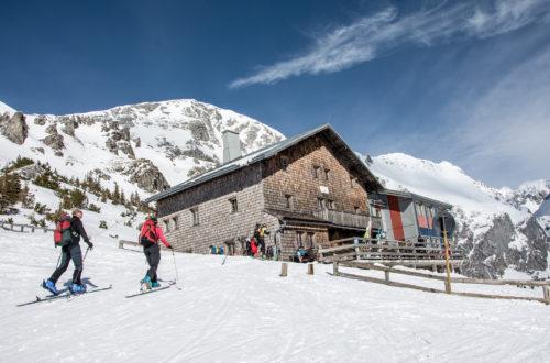 Skitour zum Stahlhaus