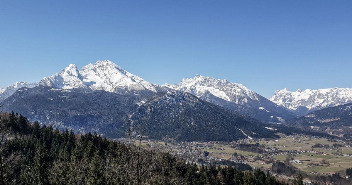 Ausblick vom Obersalzberg