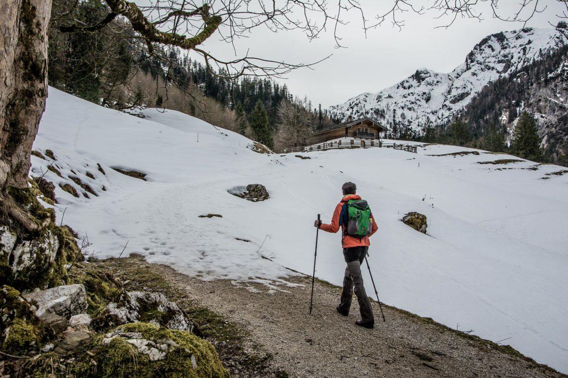 Winterwandeurng zur Ragert-Alm