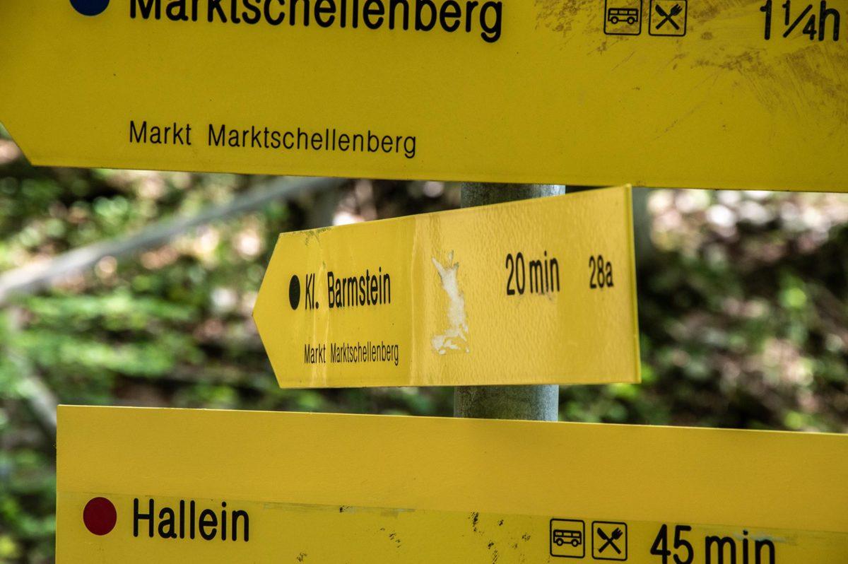 20 Minuten bis zum Gipfel des Kleinen Bamstoa - Barmstein