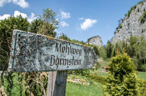 Unterwegs zu den Barmsteinen - Bamstoa