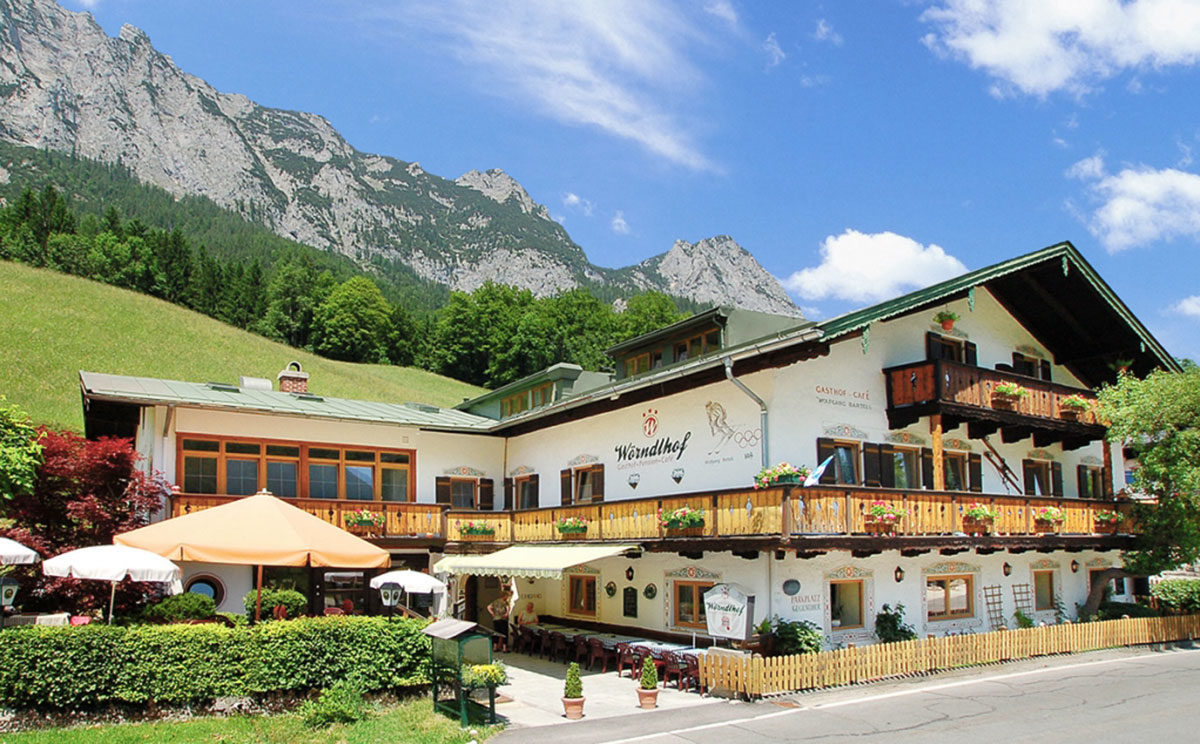 Gasthof Pension Wörndlhof an Hintersee in Ramsau