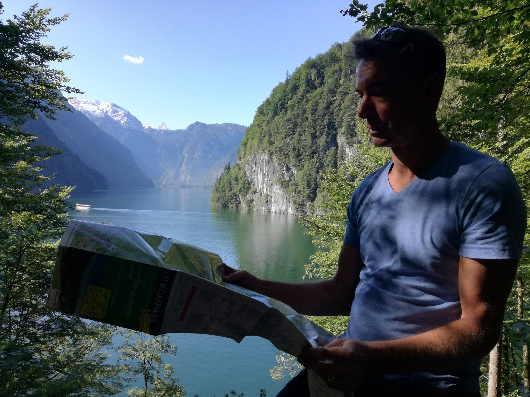 Der Königssee ist der Ausgangspunkt der Tour © Guthknecht