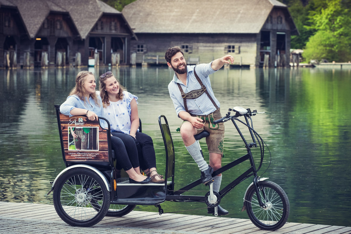 Das Königsseer Radl-Taxi