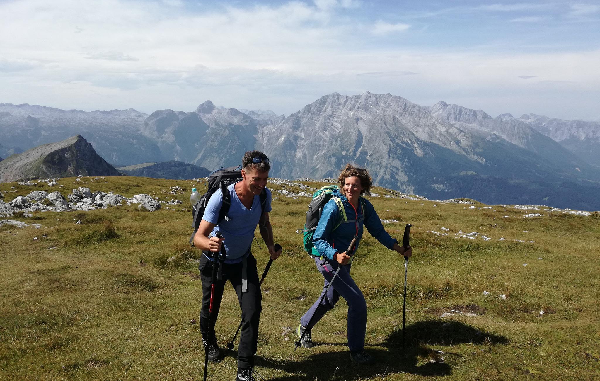 Mit Bergführerin Nina Schlesener auf den Schneibstein © Guthknecht