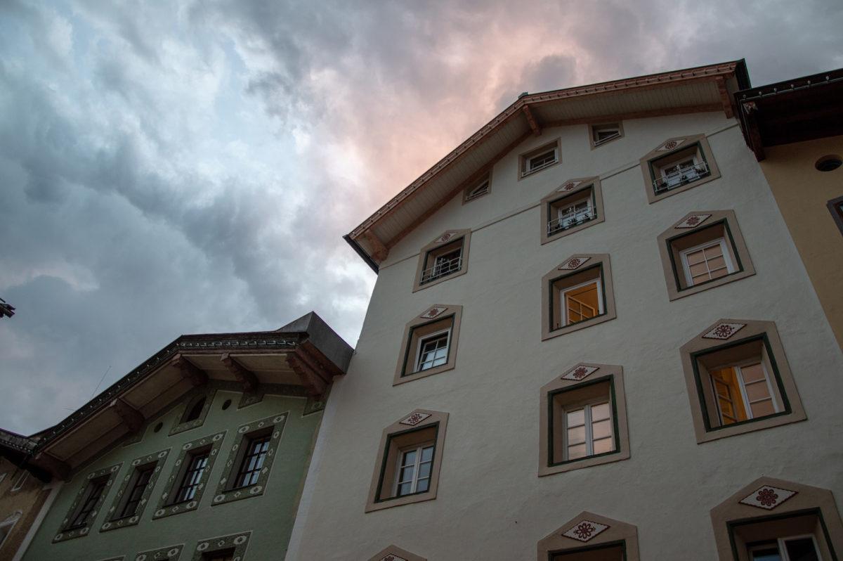 Es wird Nacht über dem Markt Berchtesgaden