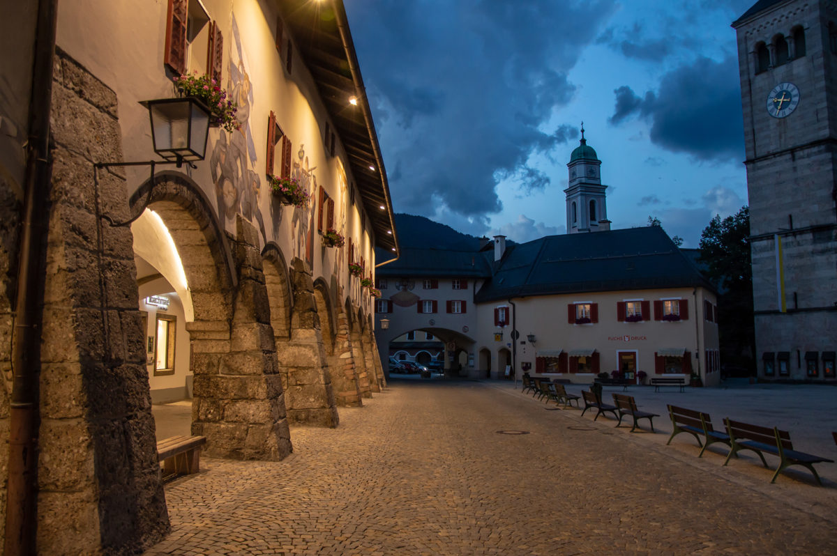 Schlossarkaden und ehemalige Stallmeisterei
