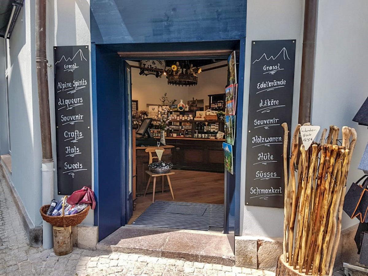 Enzian Grassl-Produkte, Souvenirs und Holzwaren