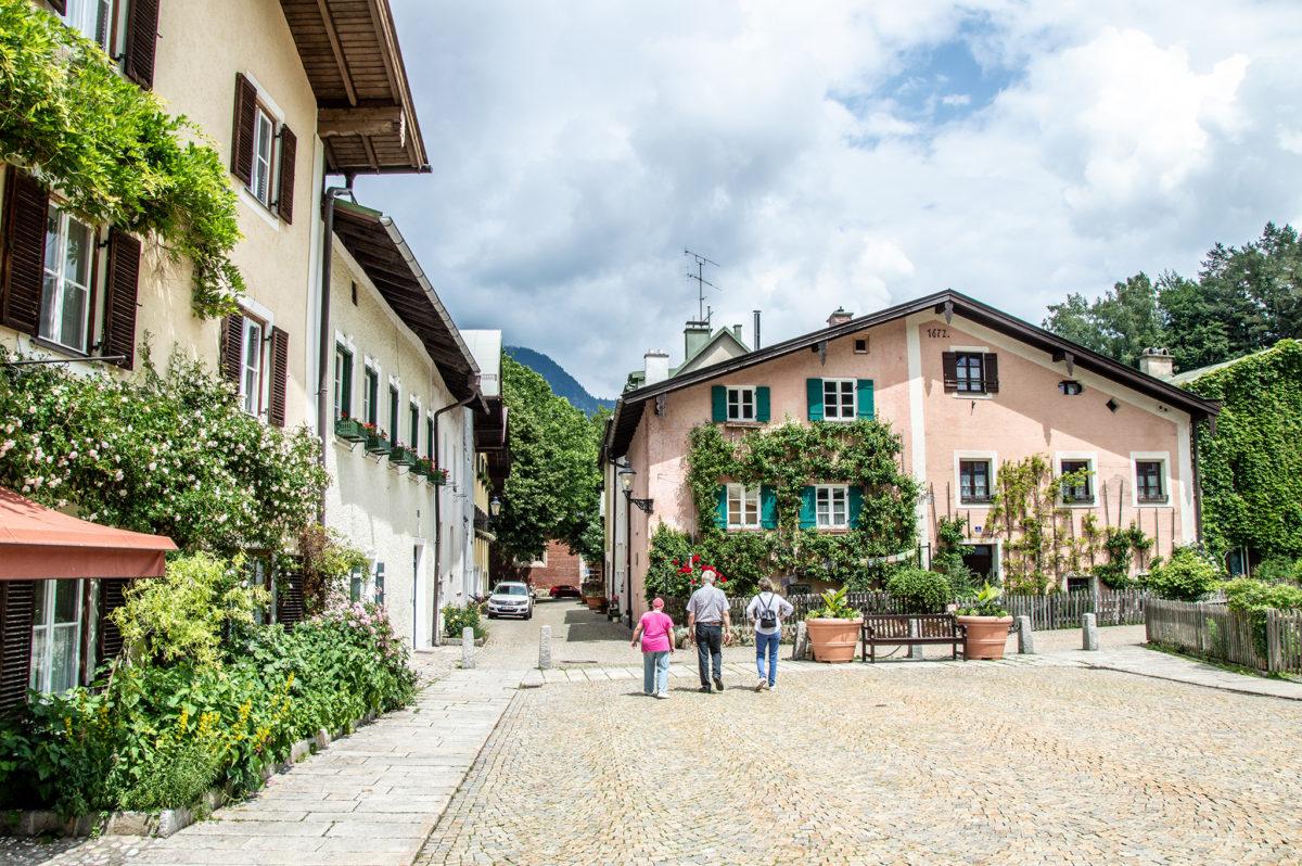 Wunderschöne alte Häuser