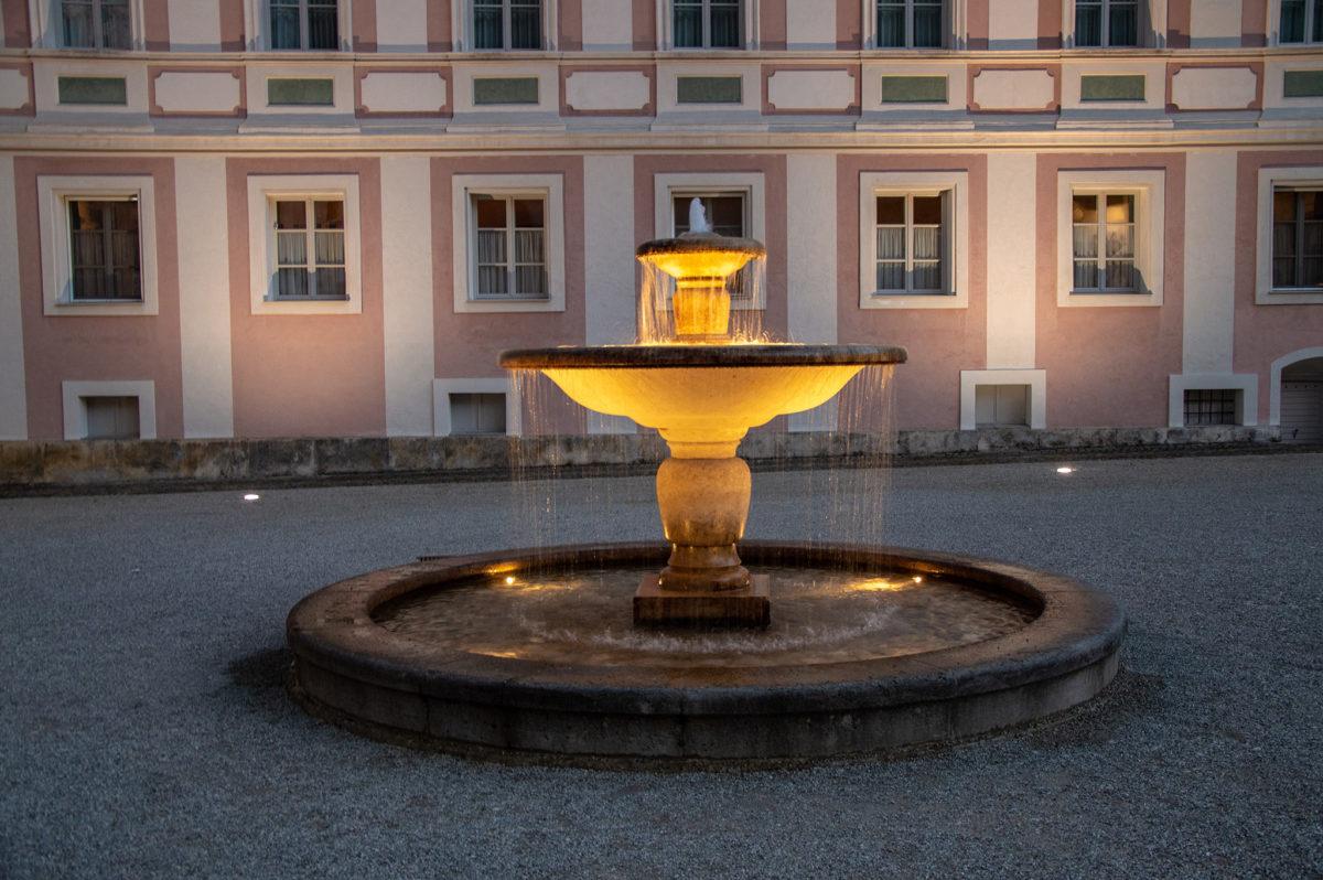 Der Kronprinz Rupprecht Brunnen auf dem Schlossplatz
