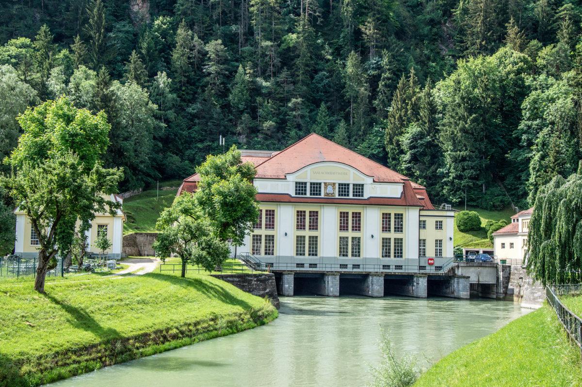 Saalachkraftwerk Bad Reichenhall