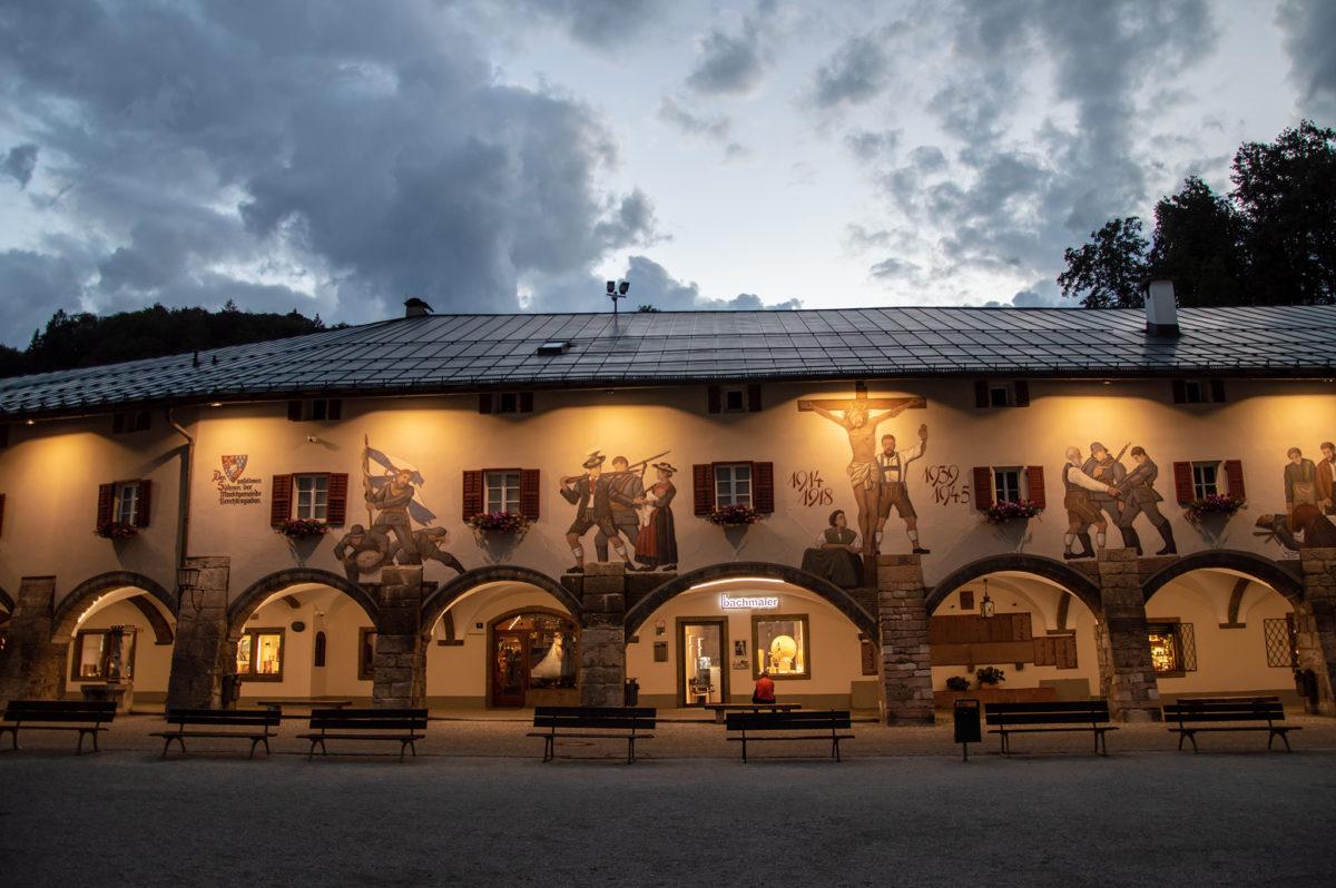 Schlossarkaden Berchtesgaden