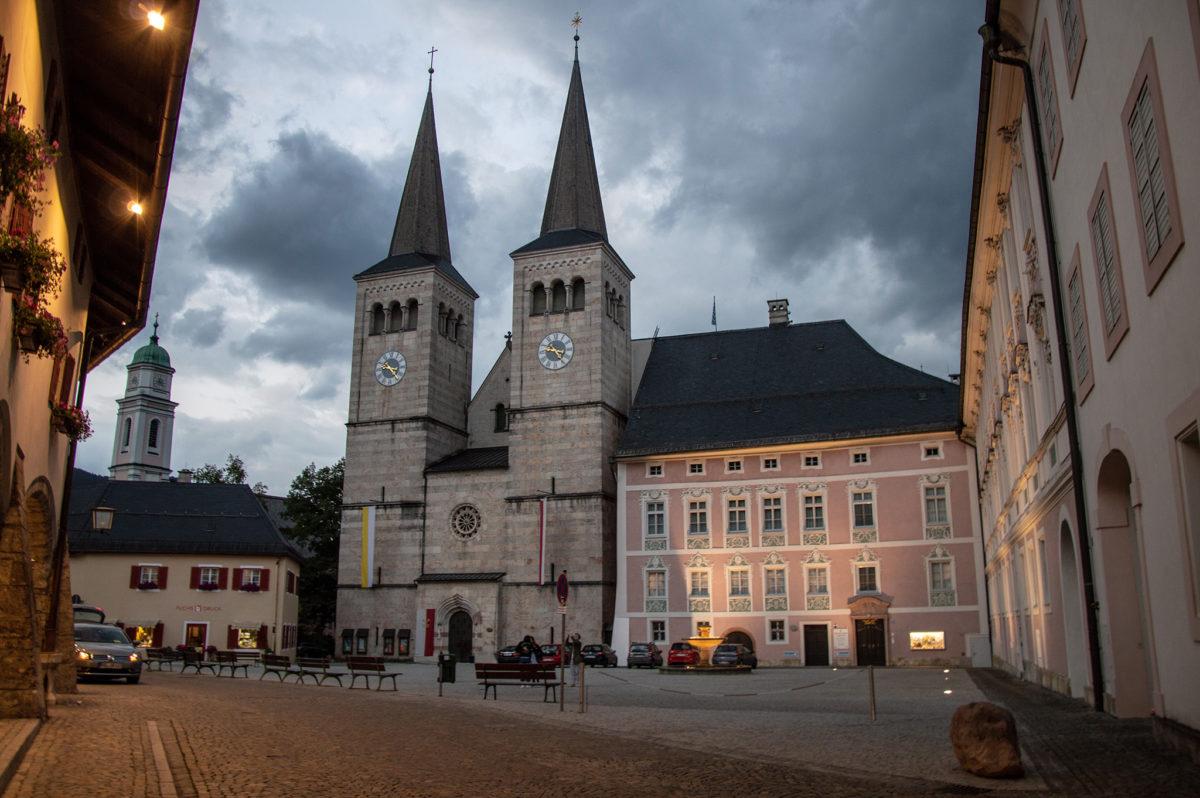 Der Schlossplatz Berchtesgaden