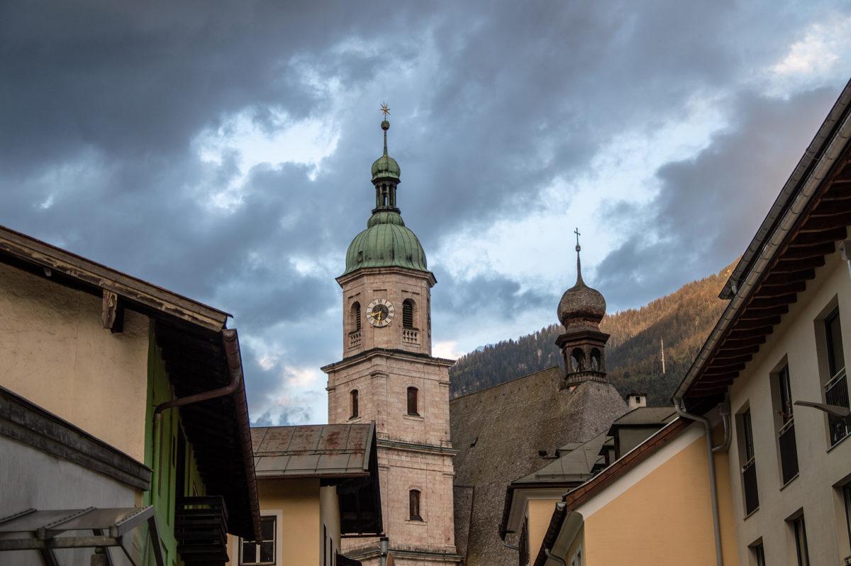 Die beiden Türme der Franziskanerkirche