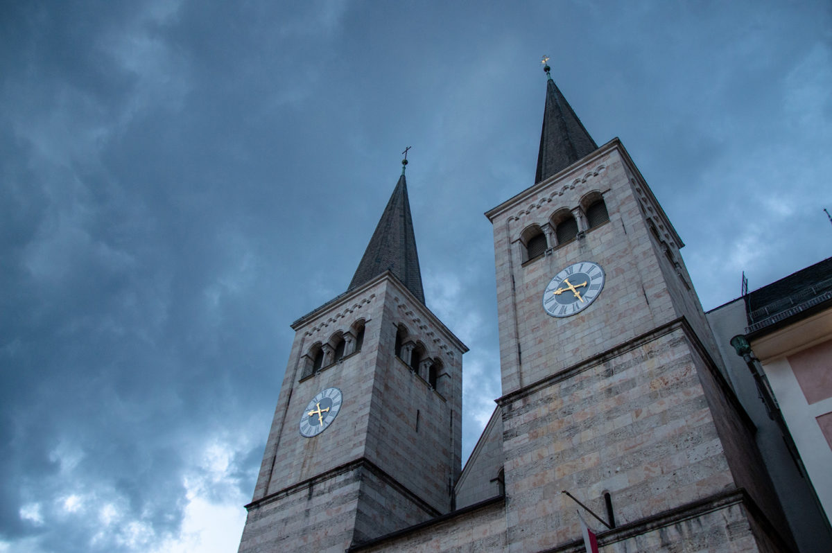 Die Türme der Stiftskirche