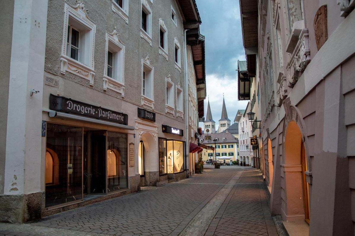 Der obere Markt Berchtesgaden