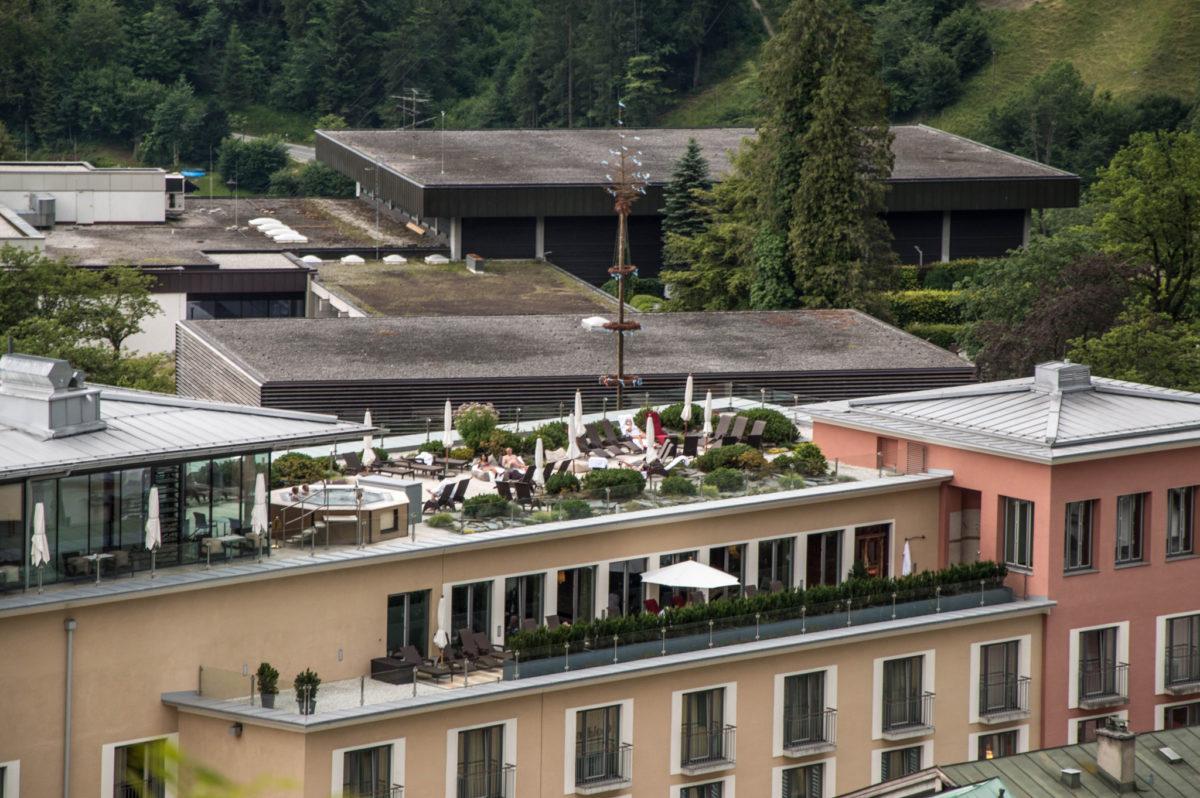 Dachterrasse Hotel Edelweiss