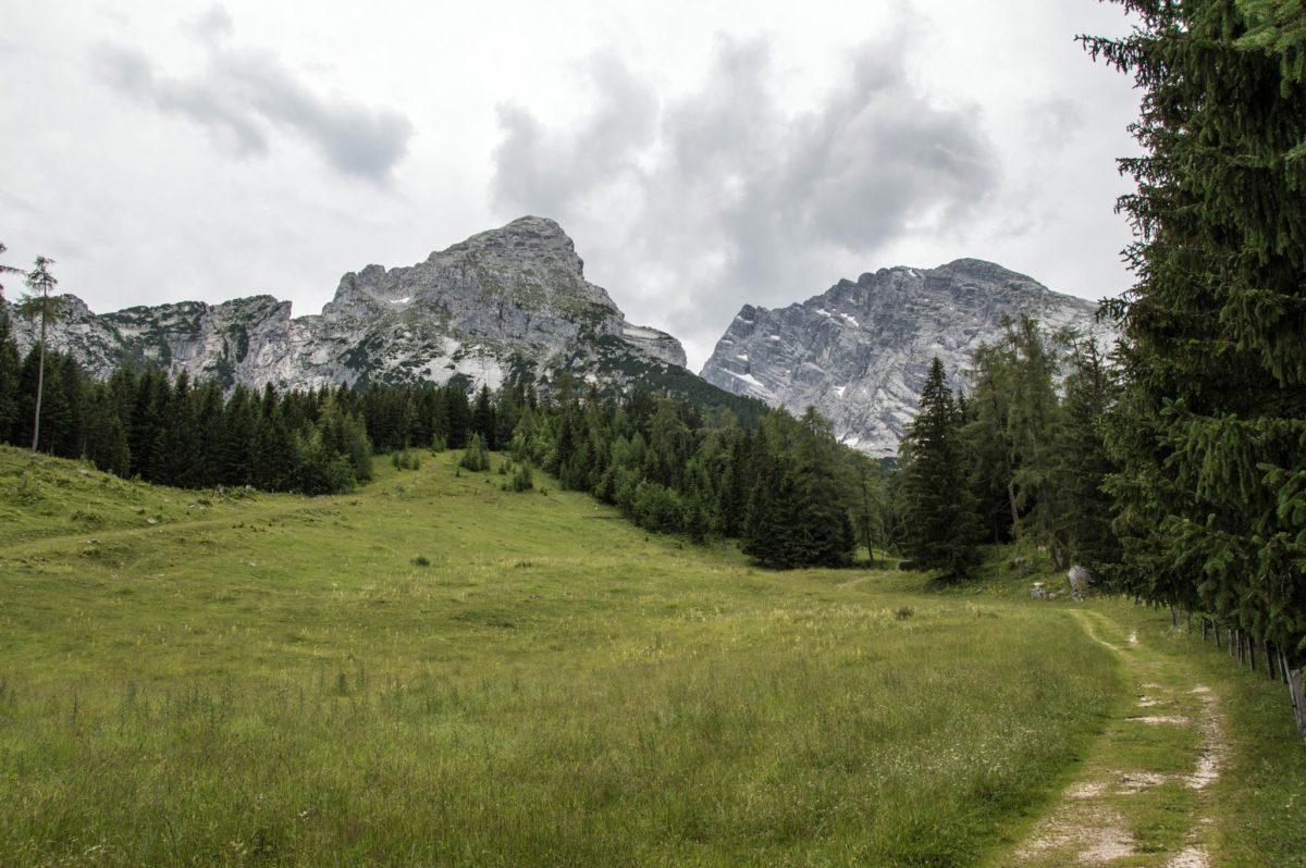 Von Kühroint Richtung Watzmannkar
