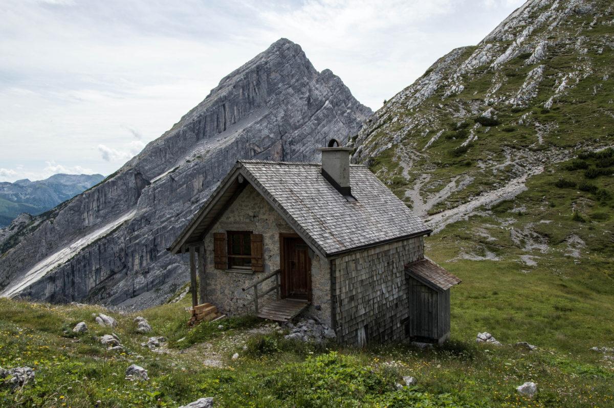 Das Nebenhaus beherbergt den Winterraum