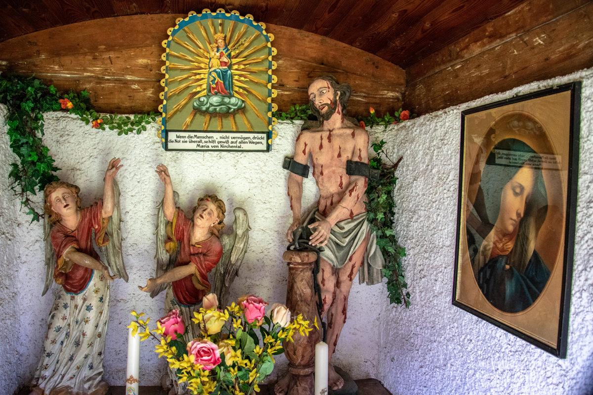 Das Innere der Eiblkapelle