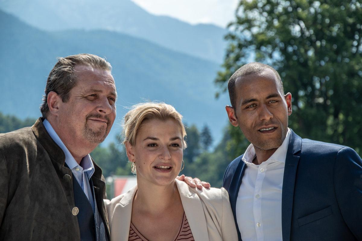 Hauptkommissar Benedikt Beissl (Andreas Giebel), Johanna Beissl (Ines Lutz), Jerry Paulsen (Peter Marton)