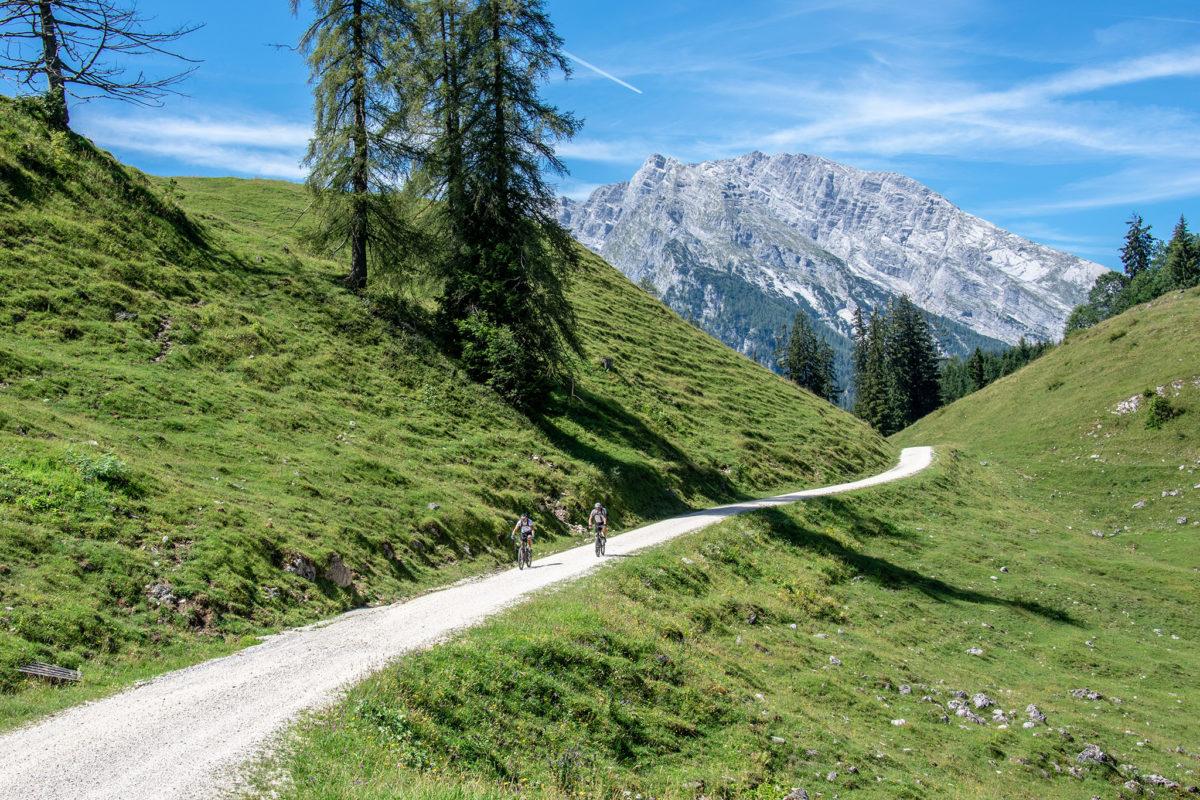 Der Mounteinbike-Weg zur Gotzenalm