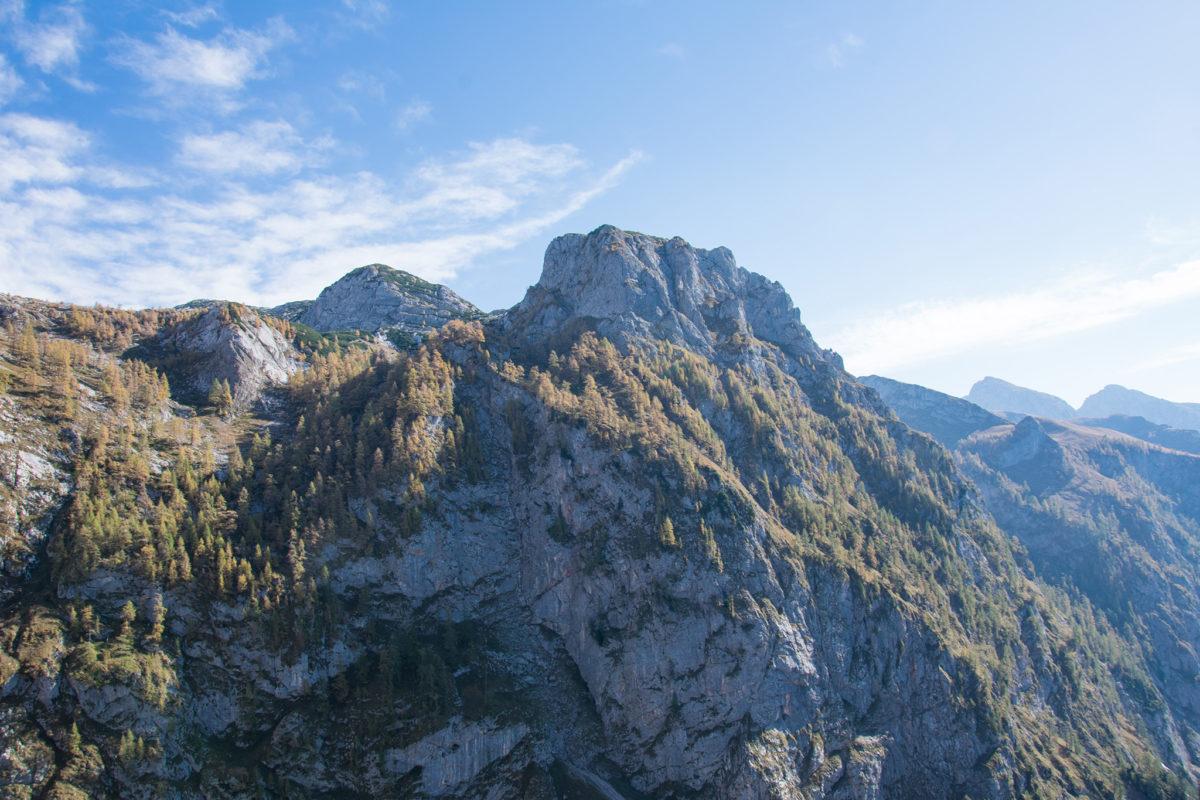 Imposantes Panorama im Landtal