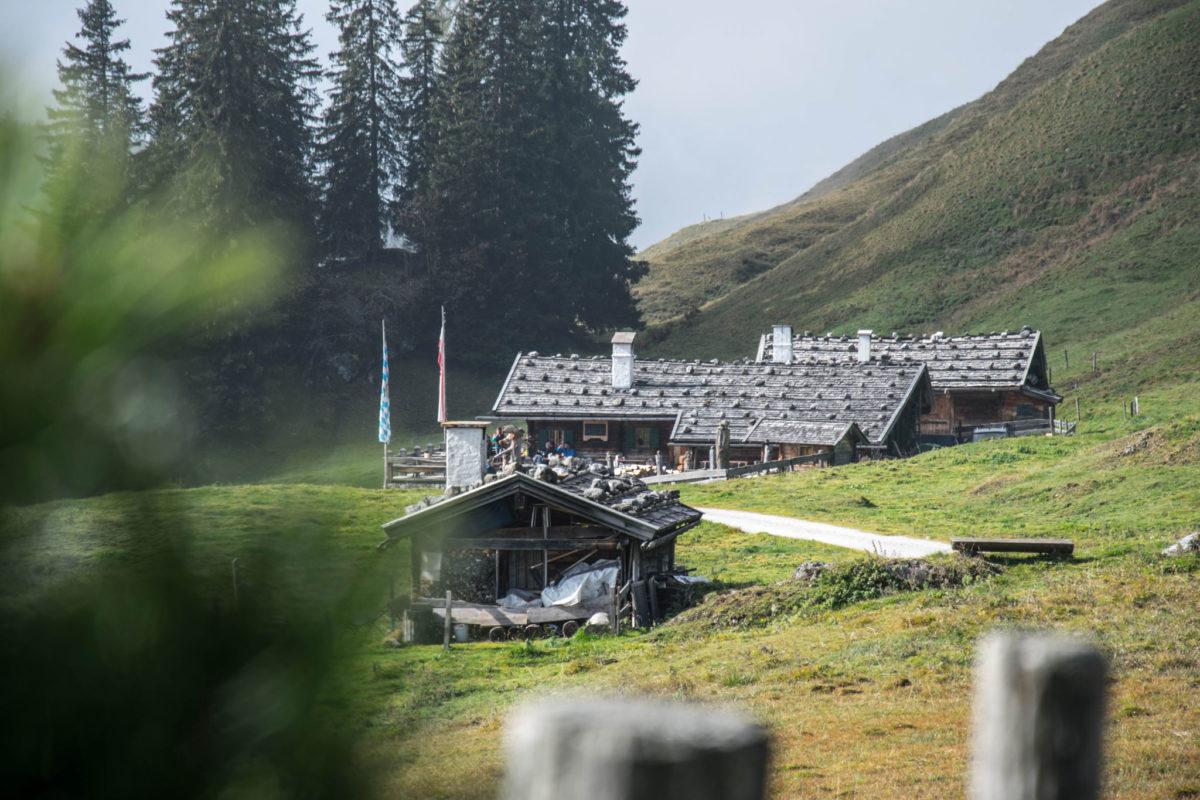 Die Jausenstation Kallbrunnalm