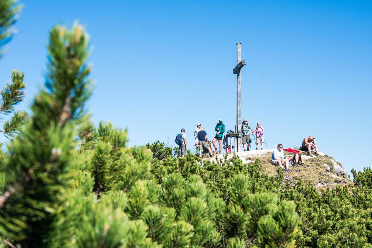 Karkopf, höchster Gipfel des Lattengebirges