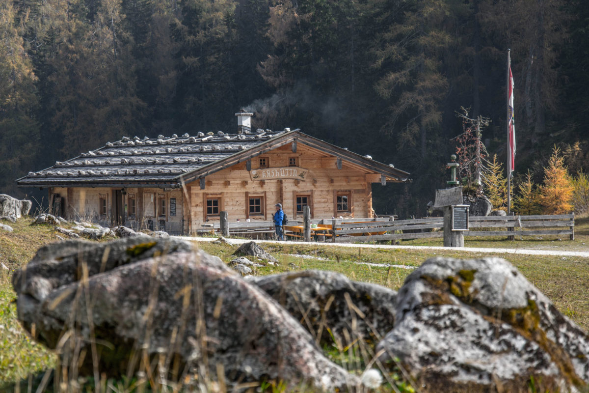 Die Kashüttn auf der Kallbrunnalm