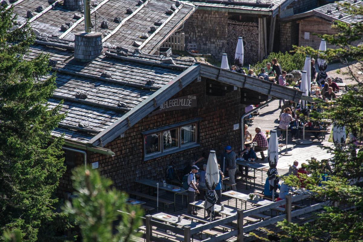 Die Terrasse der Schlegelmulde