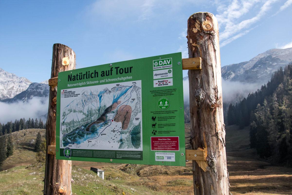 """""""Natürlich auf Tour"""" - Hinweise zur Seehorn Skitour"""