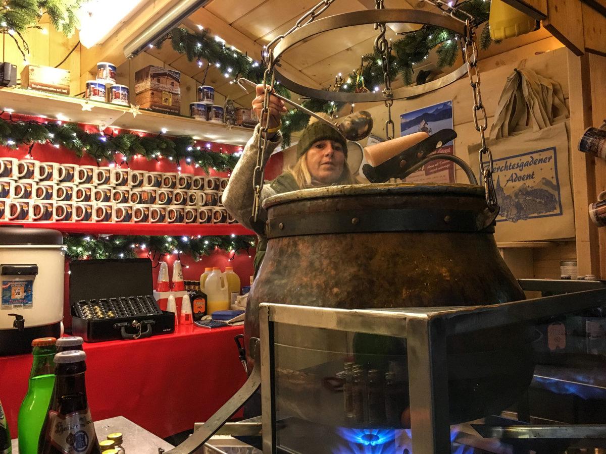 Feuerzangenbowle | Berchtesgadener Advent