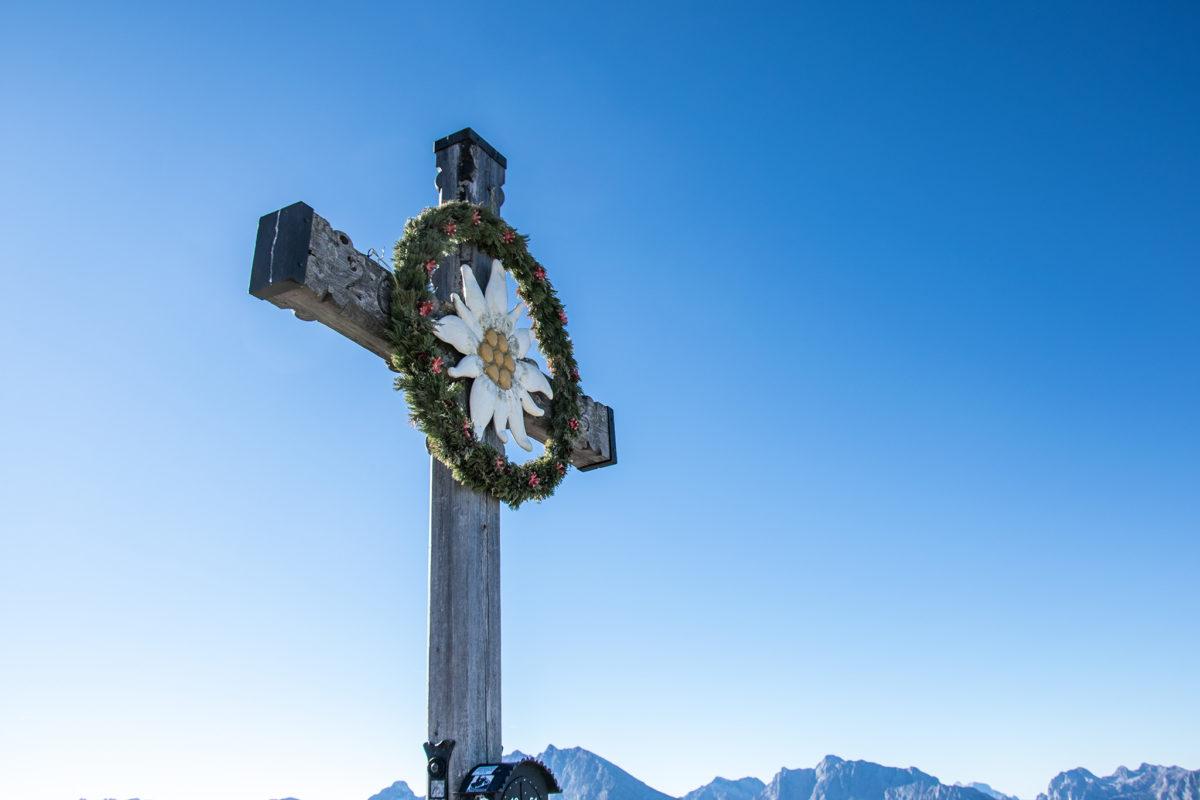 Das Kehlstein Gipfelkreuz