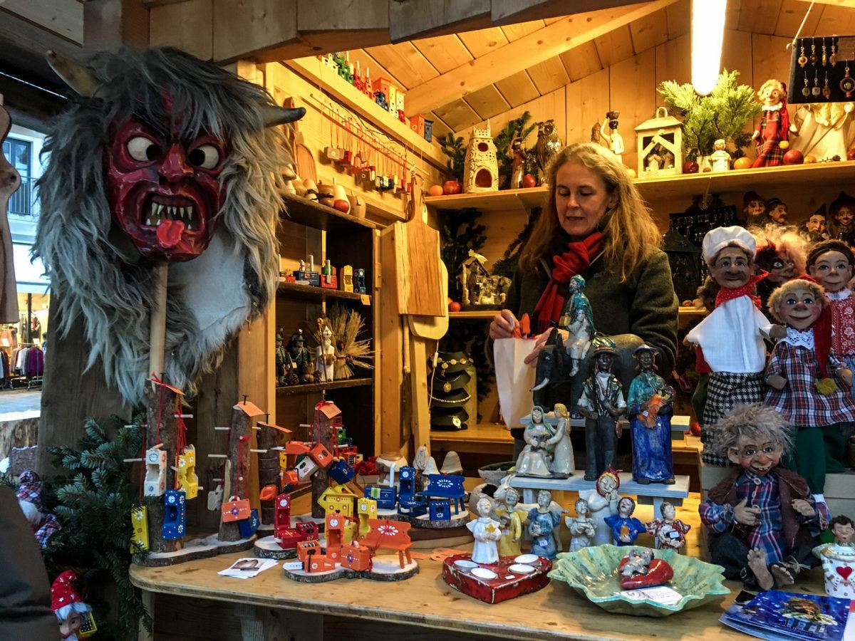 Handwerkskunst am Berchtesgadener Advent