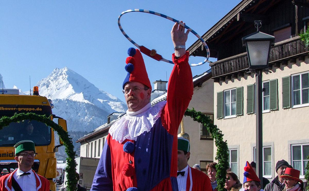 Schäfflertanz in Berchtesgaden