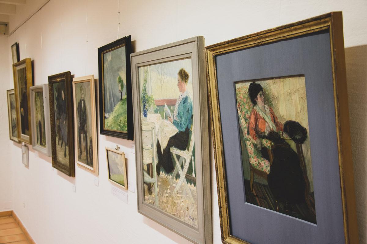 Werke von Anton Reinbold im Museum Schloss Adelsheim