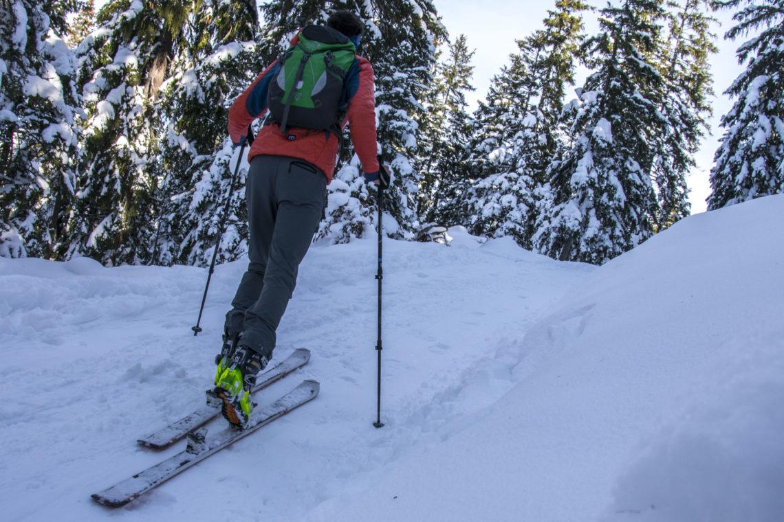 Skitour zum Hirschkaser am Hochschwarzeck