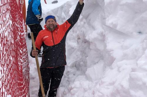 2 Meter Schnee am Hochschwarzeck
