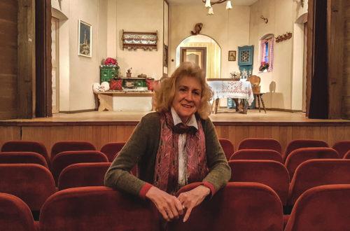 Elisabeth Hölzl-Michalsky in Ihrem Berchtesgadener Theater