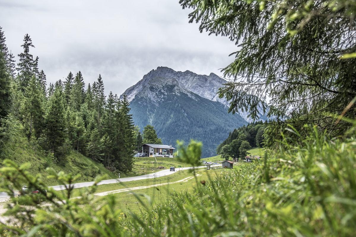 Die Talstation der Hochschwarzeck Bergbahn