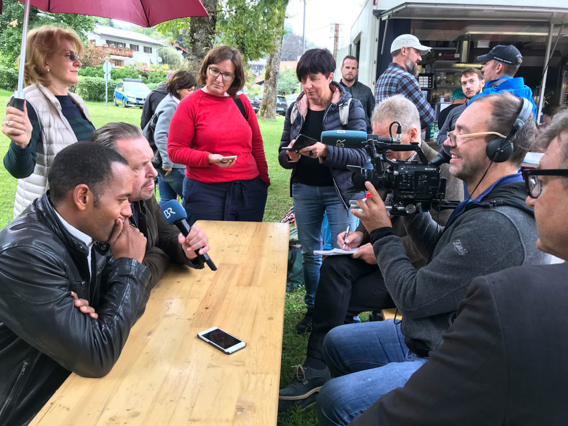 Pressekonferenz neue Folgen Watzmann ermittelt
