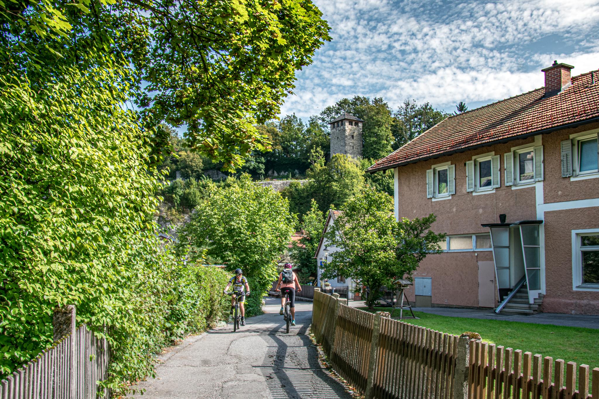 Mit dem Rad in Bad Reichenhall
